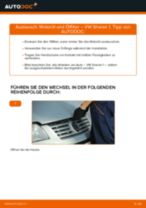 Ölfilter auswechseln VW SHARAN: Werkstatthandbuch