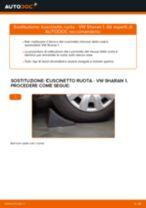 Come cambiare cuscinetto ruota della parte anteriore su VW Sharan 1 - Guida alla sostituzione