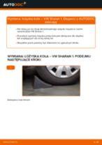 Jak wymienić łożysko koła przód w VW Sharan 1 - poradnik naprawy