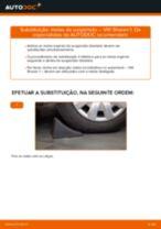 Recomendações do mecânico de automóveis sobre a substituição de VW VW Sharan 1 2.0 TDI Rolamento da Roda