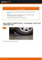 Cum să schimbați: rulment roata din față la VW Sharan 1 | Ghid de înlocuire