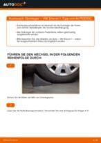 Wie VW Sharan 1 Domlager vorne wechseln - Schritt für Schritt Anleitung