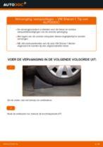 Hoe veerpootlager vooraan vervangen bij een VW Sharan 1 – vervangingshandleiding