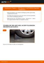 VW SHARAN (7M8, 7M9, 7M6) Stoßdämpfer vorderachse und hinterachse tauschen: Handbuch pdf