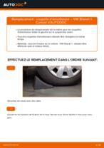 Comment changer : coupelle d'amortisseur avant sur VW Sharan 1 - Guide de remplacement