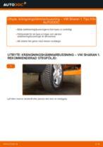 Verkstadshandbok för VW SHARAN