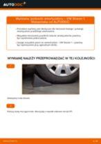 Jak wymienić poduszka amortyzatora przód w VW Sharan 1 - poradnik naprawy