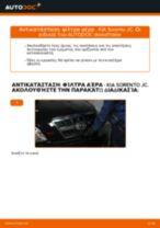 DIY εγχειρίδιο για την αντικατάσταση Έδραση Σώμα Άξονα στο ALFA ROMEO 164 1997