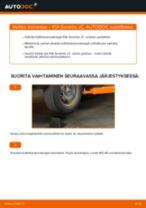 KIA SORENTO I (JC) Raitisilmasuodatin vaihto : opas pdf