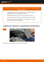 Menjava Zaznavalo lamda KIA SORENTO I (JC): vodič pdf