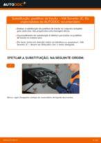 Substituição Jogo de pastilhas para travão de disco KIA SORENTO: pdf gratuito