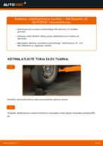 automobilių dalys KIA SORENTO I (JC) | PDF Instrukcija remonto