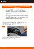 Hinweise des Automechanikers zum Wechseln von KIA KIA Sorento JC 2.4 Bremsbeläge