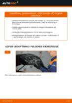 Hvordan skifter man Ophængning manuel gearkasse VW EOS - manual online