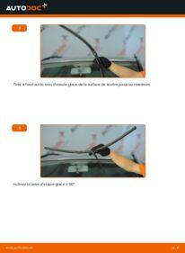 Comment effectuer un remplacement de Essuie-Glaces sur 1.9 TDI VW Sharan 1