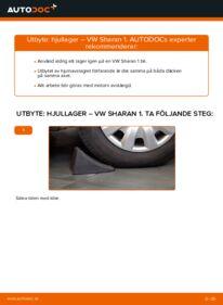 Så byter du Hjullager på 1.9 TDI VW Sharan 1