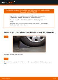 Comment effectuer un remplacement de Coupelle d'Amortisseur sur 1.9 TDI VW Sharan 1