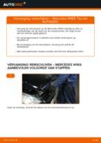 Schokdemper MERCEDES-BENZ A-CLASS (W169) monteren - stap-voor-stap tutorial