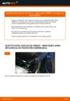 Cómo cambiar: discos de freno de la parte delantera - Mercedes W169 | Guía de sustitución