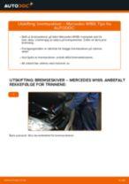Hvordan bytte Bremseskiver bak og foran MERCEDES-BENZ A-CLASS (W169) - guide online