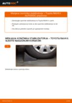 Avtomehanična priporočil za zamenjavo TOYOTA Toyota Rav4 II 2.0 4WD (ACA21, ACA20) Kolesni lezaj