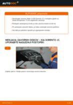 Vodič PDF po korakih za menjavo Seat Toledo 1m Zavorne Ploščice