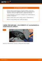 Pathfinder WD21 első és hátsó Féktárcsa cseréje: kézikönyv pdf