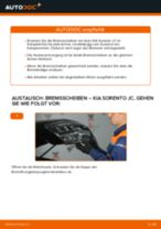 Empfehlungen des Automechanikers zum Wechsel von KIA KIA Sorento jc 2.4 Spurstangenkopf