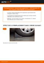 Notre guide PDF gratuit vous aidera à résoudre vos problèmes de KIA KIA Sorento jc 2.4 Filtre à Air
