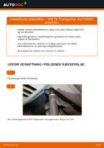 Udskift pollenfilter - VW T5 Transporter | Brugeranvisning