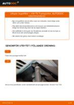 PDF guide för byta: Kupeluftfilter VW Transporter V Skåpbil (7HA, 7HH, 7EA, 7EH)