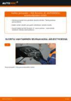 Kuinka vaihtaa Sisäilmansuodatin KIA SORENTO I (JC) - käsikirja verkossa