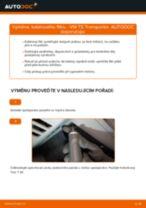 Jak vyměnit kabinovy filtr na VW T5 Transporter – návod k výměně