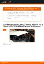 Αλλαγή Φίλτρο λαδιού VW TRANSPORTER: δωρεάν pdf