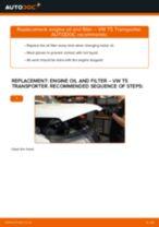 Replacing Brake caliper carrier on VW TRANSPORTER V Box (7HA, 7HH, 7EA, 7EH) - tips and tricks