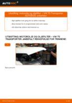 Skifte Oljefilter VW TRANSPORTER: gratis pdf