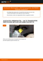 Montage Bremssattel Reparatursatz VW TRANSPORTER V Box (7HA, 7HH, 7EA, 7EH) - Schritt für Schritt Anleitung