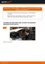 Wie VW T5 Transporter Kraftstofffilter wechseln - Schritt für Schritt Anleitung