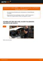 Bremssattelhalter auswechseln VW TRANSPORTER: Werkstatthandbuch