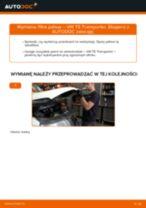 Instrukcja warsztatu dla VW T5 Van