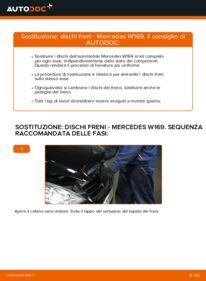 Come effettuare una sostituzione di Dischi Freno su A 180 CDI 2.0 (169.007, 169.307) Mercedes W169