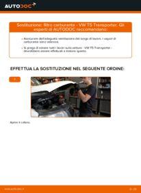 Come effettuare una sostituzione di Filtro Carburante su VW ? Dai un'occhiata alla nostra guida dettagliata e scopri come farlo