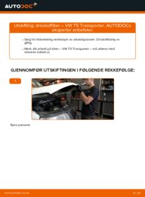 Slik bytter du Drivstoffilter på VW TRANSPORTER