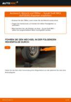 Wann Motorölfilter tauschen: PDF Anweisung für SUZUKI SWIFT III (MZ, EZ)