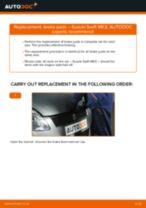 Auto mechanic's recommendations on replacing SUZUKI SUZUKI SWIFT III (MZ, EZ) 1.3 DDiS (RS 413D) Springs