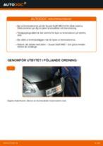 Onlineguide för att själv byta Vindrute torkarmekanism i Audi A4 b7