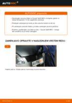 DIY-priročnik za zamenjavo Nosilec amortizerja v SUZUKI SWIFT III (MZ, EZ)