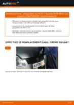 Notre guide PDF gratuit vous aidera à résoudre vos problèmes de SUZUKI Suzuki Swift 3 1.3 DDiS (RS 413D) Filtre à Huile