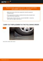 SUBARU TRIBECA change Deflection / Guide Pulley, timing belt : guide pdf