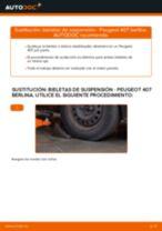 Aprender cómo solucionar el problema con Bieletas de Suspensión delantera y trasera PEUGEOT
